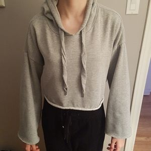 Other - Girl's Crop Grey Hoody